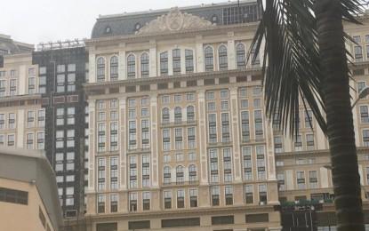 Grand Lisboa Palace undamaged by Typhoon Mangkhut: SJM