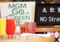 Throwaway plastic ban at MGM China eateries from 1Q 2019