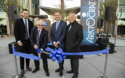 Aristocrat Tech opens Las Vegas team campus