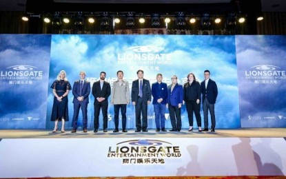Lionsgate themed venue opening Hengqin 1H 2019: brand