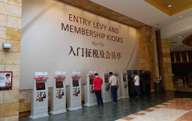 Under 3pct locals Spore casino users after levy up says CRA