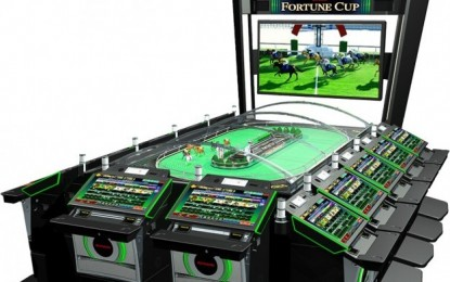 Konami horse race game Fortune Cup in Macau debut: APE