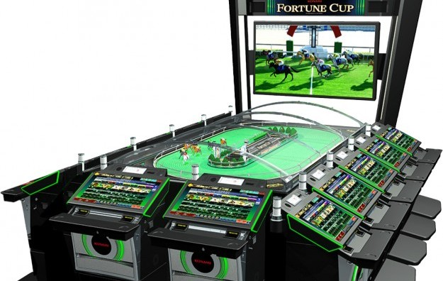 Konami horse race game Fortune Cup in Macau debut: APE