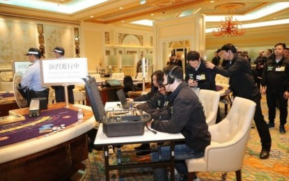 Macau casino attack drill to be held annually: DICJ