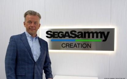 Sega Sammy Creation names CEO for Nevada unit