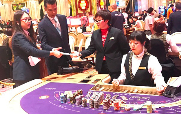 Macau ops, DICJ in typhoon drill, test halting gaming