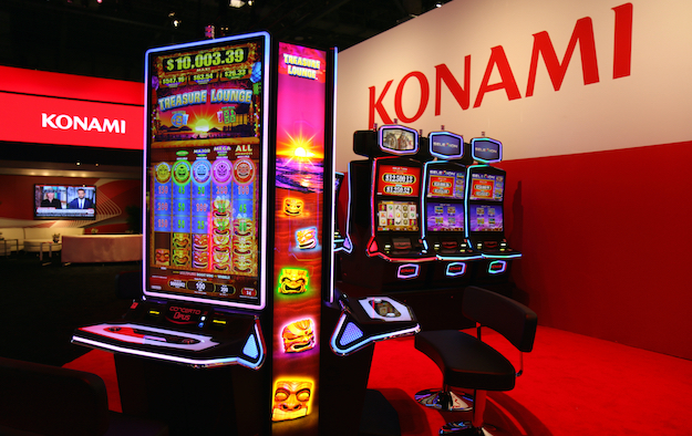 Konami 1H slots, systems revenue US$137 mln