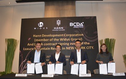 Widus considering casino option for New Clark project