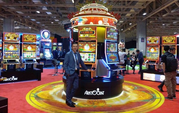 Aristocrat's MarsX cabinet in Asia show debut at MGS