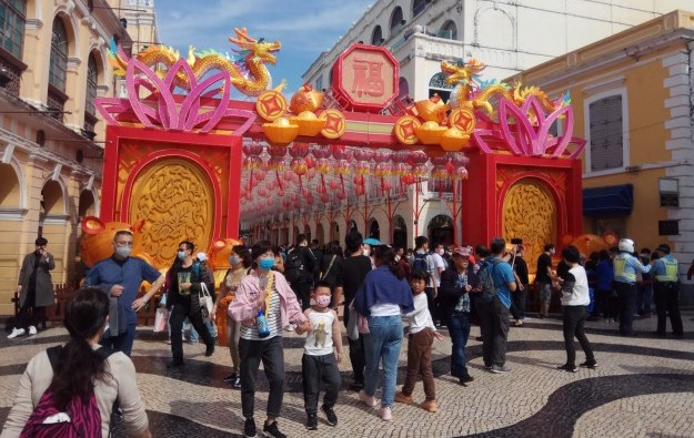 Macau's Jan visitor tally down 17pct to 2.85-mln: govt