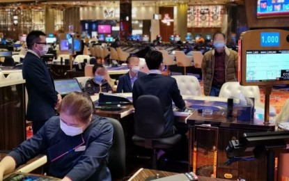 Macau casinos seek protective screen tryout: DICJ