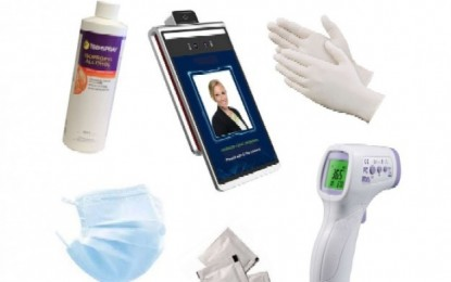 SuzoHapp offers personal protection kit line for casinos