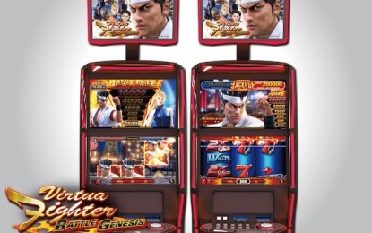 Sega Sammy's Virtua Fighter slot title in Vietnam venue