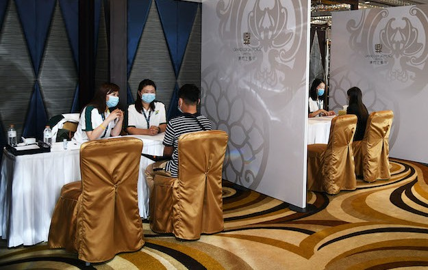 First large SJM recruitment event for Grand Lisboa Palace