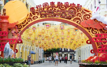 Macau Golden Week visitor tally down 87pct in first 3 days