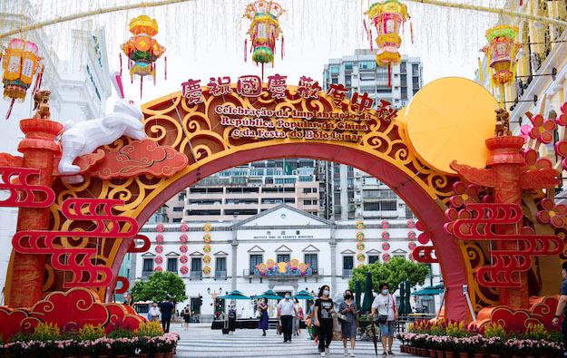 Macau Golden Week visitor tally at 156,300: govt