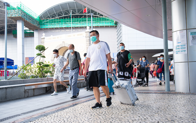 Macau removes last mainland cities from its quarantine list
