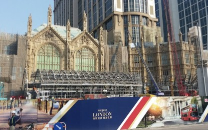 Londoner Hotel at Cotai resort may open February: Wong