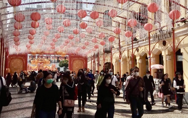 Macau CNY visitor traffic down 72pct in first 5 days