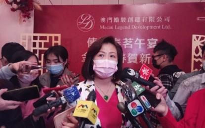 Macau Legend aims at licensee status: Melinda Chan